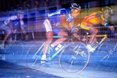 Strassenrennen der Radprofis in Duisburg